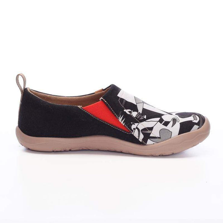 WANDERING Art Design Men Flats - AUE UIN FOOTWEAR