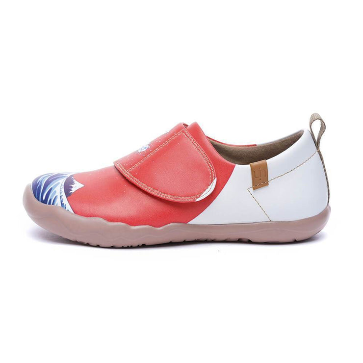 WAVY MONSTER kids Art Painted Fashion Shoes - AUE UIN FOOTWEAR