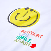 UIN Footwear Smiley T-shirt Canvas loafers