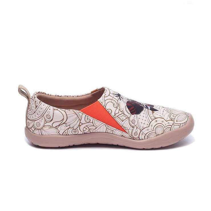 BLACK PEARL Exotic Style Women Canvas Shoes - AUE UIN FOOTWEAR