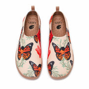 UIN Footwear Women Butterfly Fairy Canvas loafers