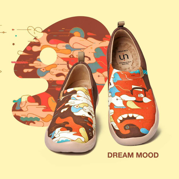 UIN Footwear Women Dream Mood Canvas loafers