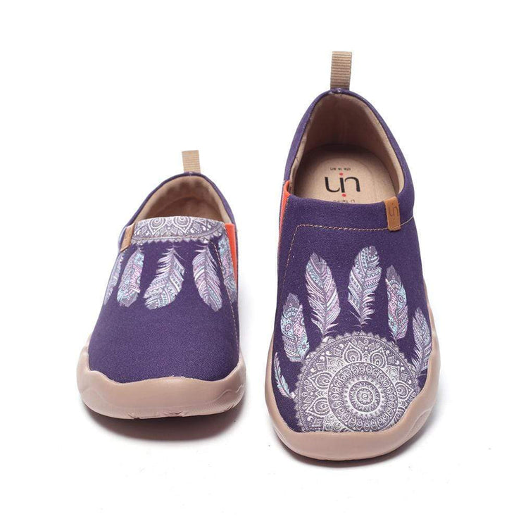 DREAMCATCHER Canvas Art Painted Travel Shoes - AUE UIN FOOTWEAR