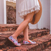 FLORA IN MARCH Painted Shoes for Ladies - AUE UIN FOOTWEAR