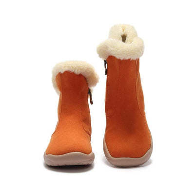 Hakkar Orange Boots - AUE UIN FOOTWEAR
