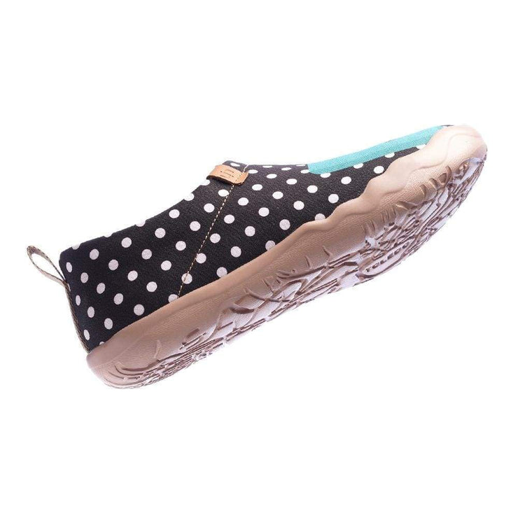 HOLA Classic Dot Female Canvas Shoes - AUE UIN FOOTWEAR