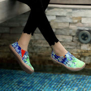 LOVE IN SPRING Abstract Painting Shoes For Lady - AUE UIN FOOTWEAR