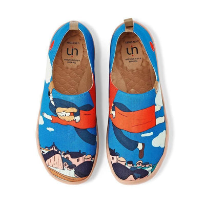 UIN Footwear Women Over The Town Canvas loafers