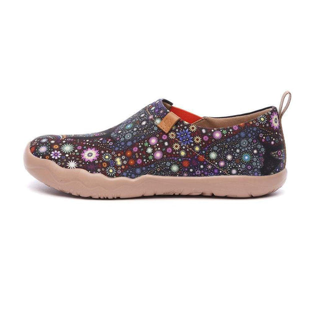 PRAY FOR GOODNESS Canvas Loafers for Women - AUE UIN FOOTWEAR