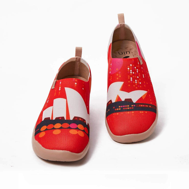 UIN Footwear Women (Pre-sale) Opera House Canvas loafers