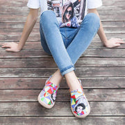 RAINBOW GIRL Colorful Shoes for Lady - AUE UIN FOOTWEAR