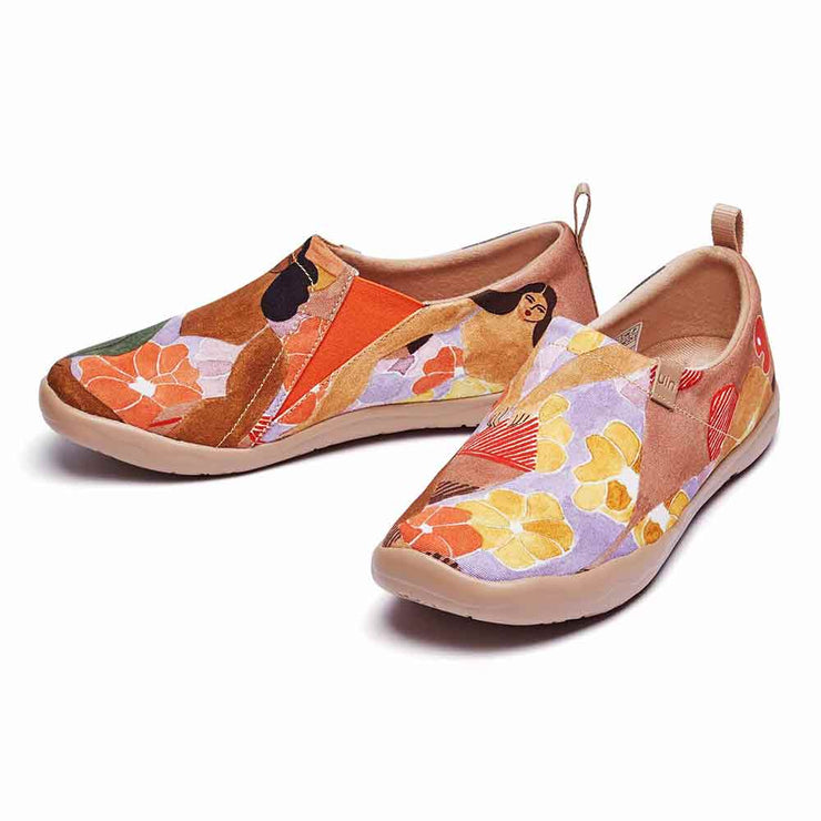 UIN Footwear Women Tahiti's Girl Canvas loafers