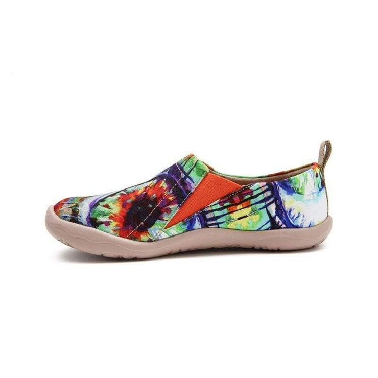 THE EYE Abstract Art Painted Shoes for Women - AUE UIN FOOTWEAR