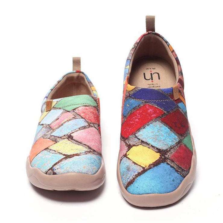 TIME LEGACY Women Painted Canvas Shoes - AUE UIN FOOTWEAR