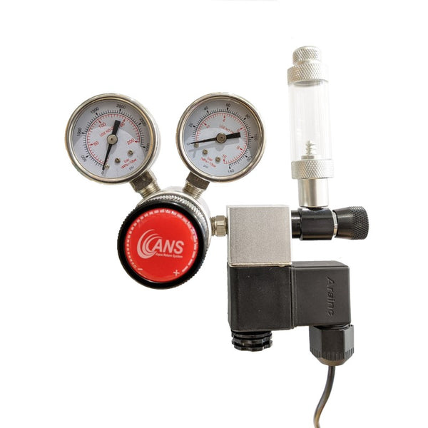 ANS PRO II CO2 Regulator Advance (Dual Stage with Solenoid)