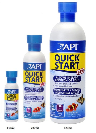 API QUICK START 473ML, 237ML, 118ML