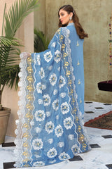 Gul Ahmed 3 PC Unstitched Embroidered Lawn Suit with Chiffon Dupatta PM-327