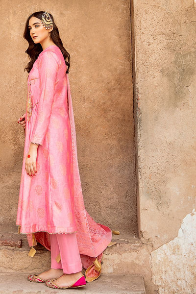 Gul Ahmed 3 PC Unstitched Jacquard Suit MJ-32 B