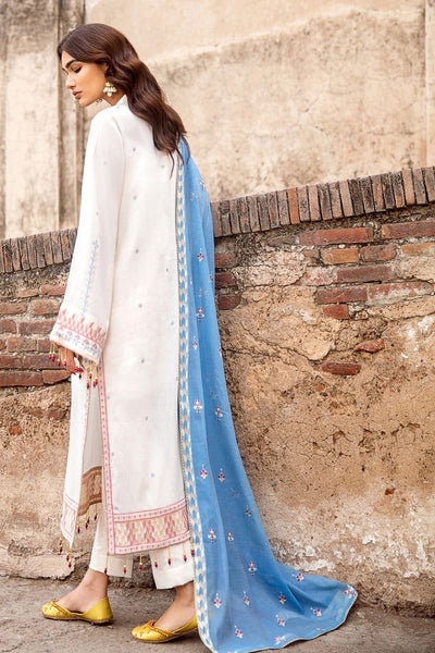 Gul Ahmed 3 PC Unstitched Embroidered Jacquard Suit with Cotton Net Dupatta MJ-36
