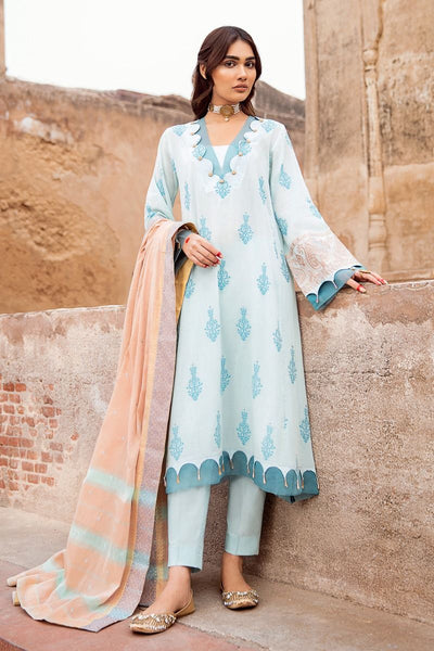 Gul Ahmed 3 PC Unstitched Embroidered Jacquard Suit MJ-38