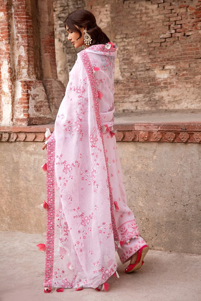 Gul Ahmed 3 PC Unstitched Embroidered Jacquard Suit with tissue silk dupatta MJ-41