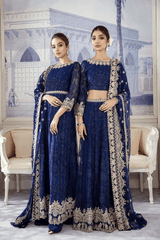 Iznik ID-03 Navy Jewel (3PC)