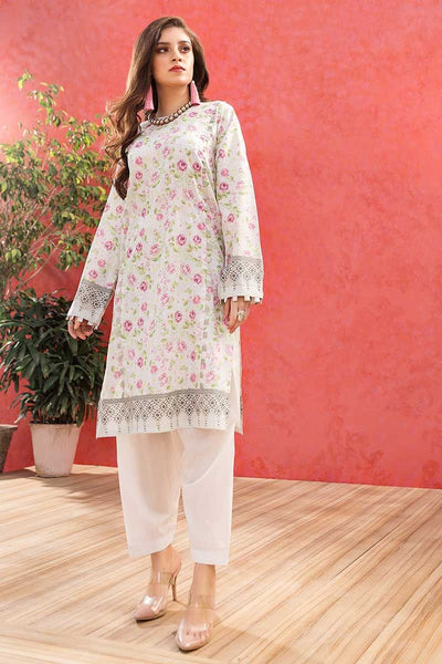 Gul Ahmed 1PC Unstitched Lawn Shirt SL-758