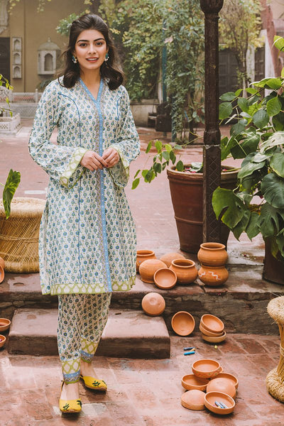 Gul Ahmed 1PC Unstitched Lawn Shirt SL-763