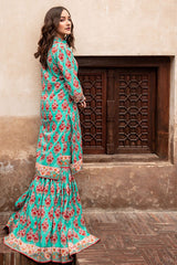 Gul Ahmed 1PC Unstitched Lawn Shirt SL-797