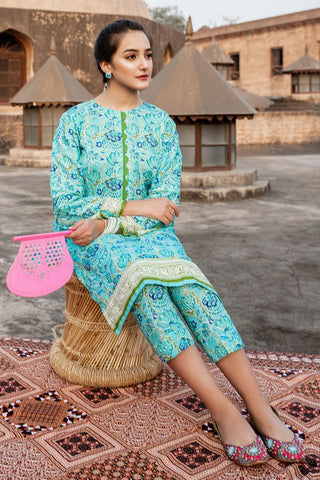 Gul Ahmed 1PC Unstitched Lawn Shirt SL-800