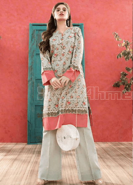 Unstitched Kurties GA20BGC SL-754 - Spring / Summer Collection