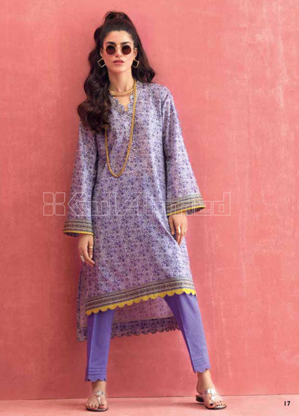 Unstitched Kurties GA20BGC SL-782 - Spring / Summer Collection