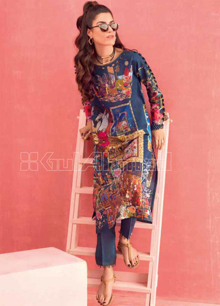 Unstitched Kurties GA20BGC SL-790 - Spring / Summer Collection