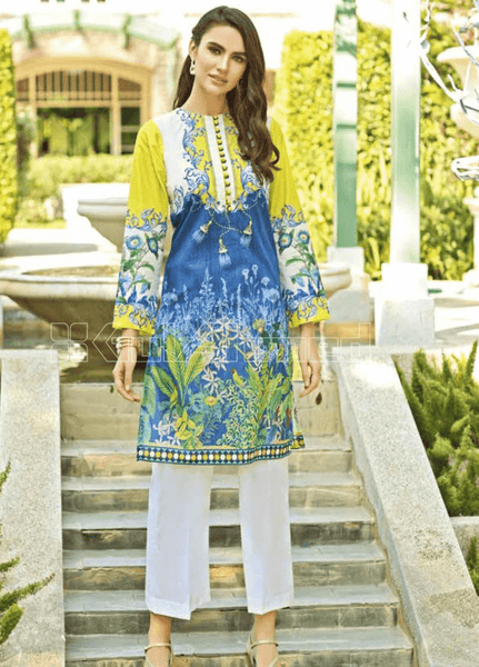 Unstitched Kurties GA20BGC SL-792 - Spring / Summer Collection