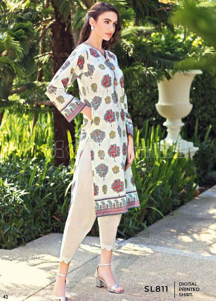 Unstitched Kurties GA20BGC SL-811 - Spring / Summer Collection