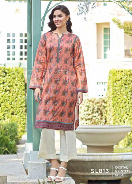 Unstitched Kurties GA20BGC SL-813 - Spring / Summer Collection