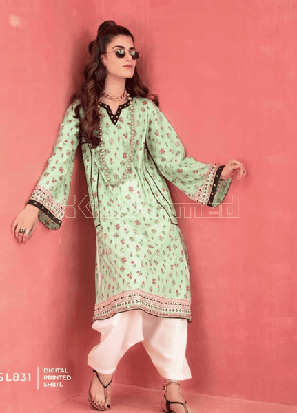 Unstitched Kurties GA20BGC SL-831 - Spring / Summer Collection