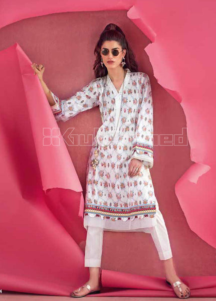 Unstitched Kurties GA20BGC SL-832 - Spring / Summer Collection