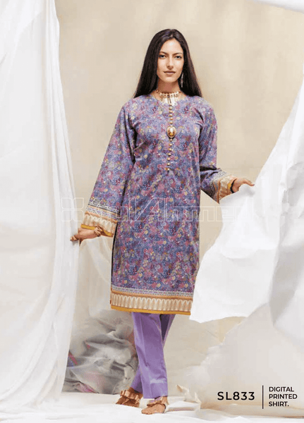 Unstitched Kurties GA20BGC SL-833 - Spring / Summer Collection