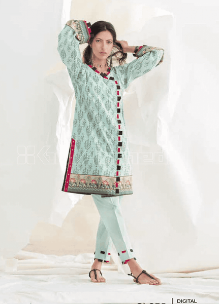 Unstitched Kurties GA20BGC SL-835 - Spring / Summer Collection