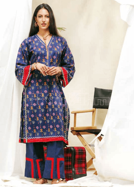Unstitched Kurties GA20BGC SL-837 - Spring / Summer Collection