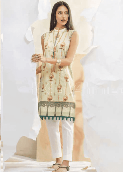Unstitched Kurties GA20BGC SL-842 - Spring / Summer Collection