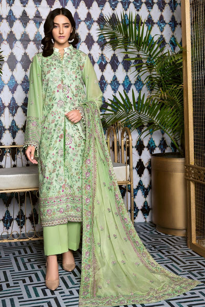 Gul Ahmed 3 PC Unstitched Swiss Voile Suit LSV-26