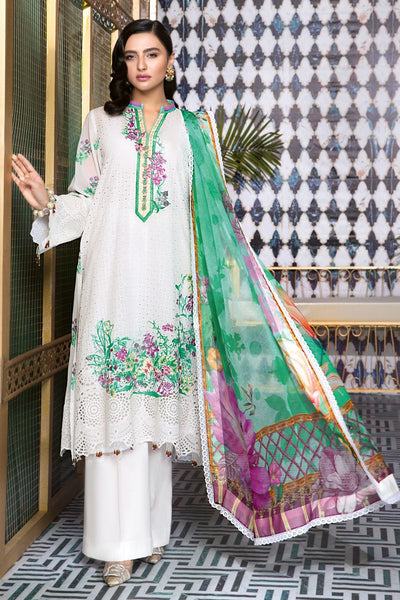 Gul Ahmed 3 PC Unstitched Swiss Voile Suit LSV-21