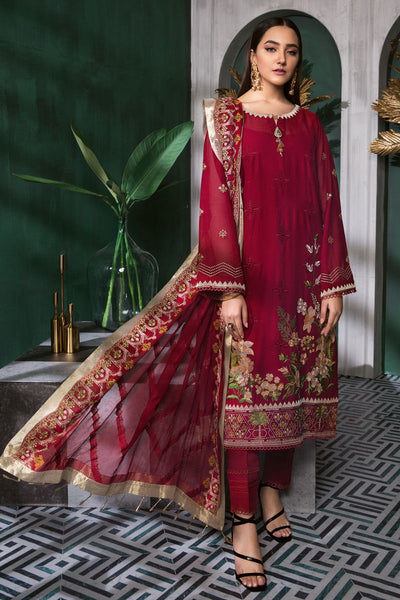 Gul Ahmed 3 PC Unstitched Swiss Voile Suit LSV-35