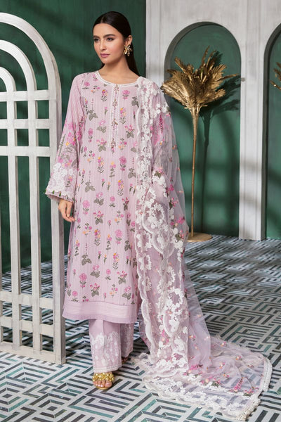 Gul Ahmed 3 PC Unstitched Swiss Voile Suit LSV-36