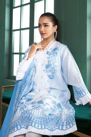 Gul Ahmed 3 PC Unstitched Swiss Voile Suit LSV-27