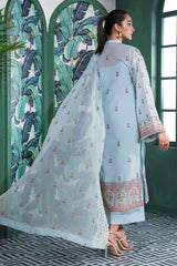 Gul Ahmed 3 PC Unstitched Swiss Voile Suit LSV-22
