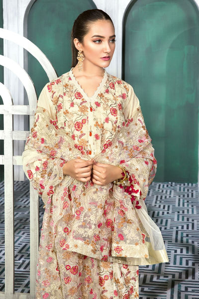 Gul Ahmed 3 PC Unstitched Swiss Voile Suit LSV-28