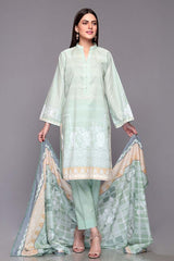 Gul Ahmed 3PC Unstitched Lawn Suit CL-669 A